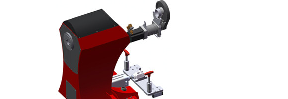 Synchronized drive of the tailstock with main spindle for Mk.I. version
